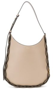farfetch Chloe Darryl logo hobo bag