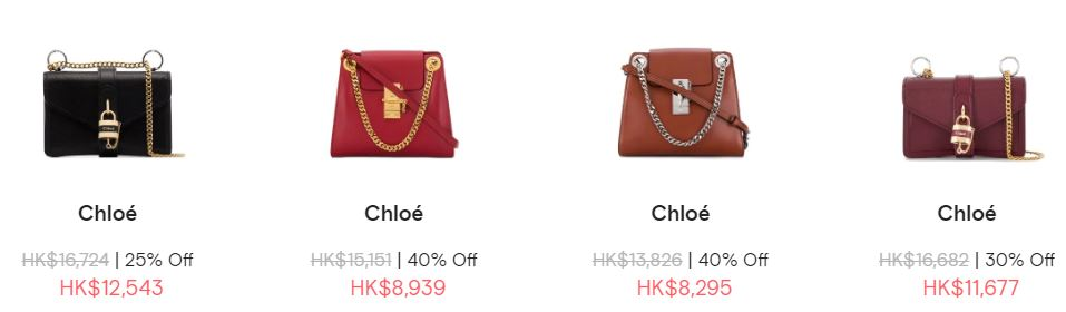 Farfetch chole bag SALE