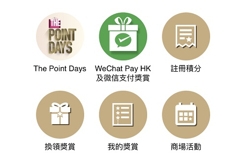 WeChat Pay x 新地商場App 優惠