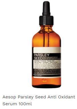 Aesop Parsley Seed Anti Oxidant Serum