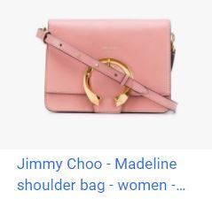 FARFETCH X Jimmy Choo Madeline shoulder bag優惠