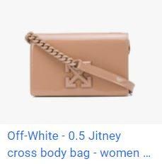 FARFETCH X Off-White Jitney cross body bag優惠