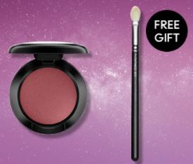 M.A.C Cosmetics優惠碼: 選購任何眼影 – 送你217S經典暈色掃(價值$245)!
