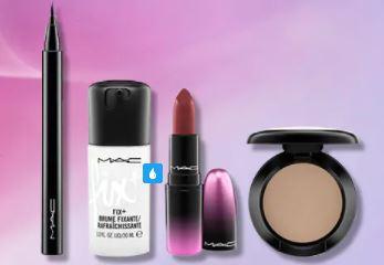 M.A.C. Cosmetic優惠碼: 選購任何產品滿$600 -送贈4件妝品