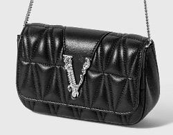 HBX優惠碼: VERSACE VIRTUS QUILTED EVENING BAG – 50% OFF